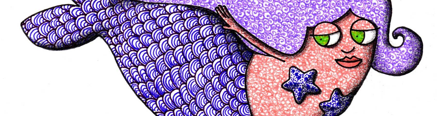 sirena_racconto-manuela-acquafresca illustrazione